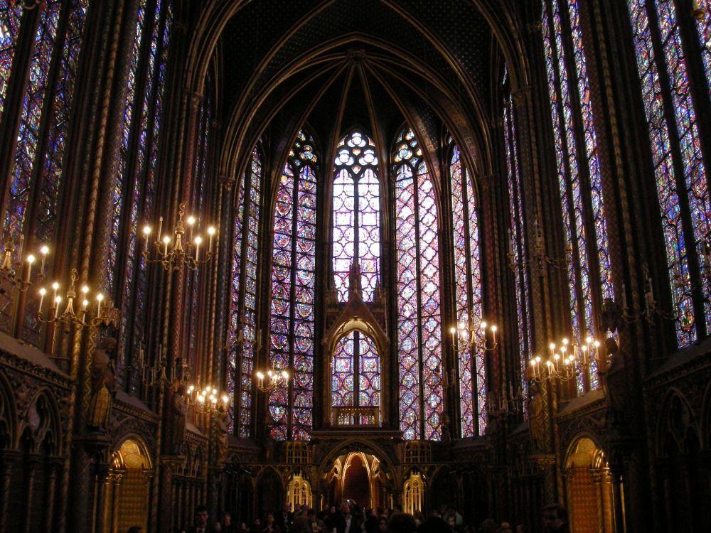 Ste. Chapelle det øverste kapel