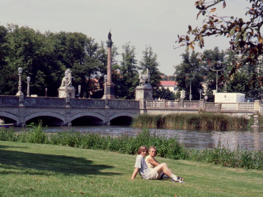 Aase og René i Schwerin