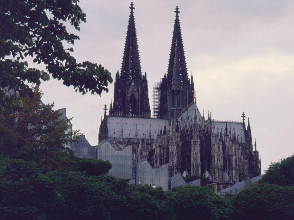 Domkirken i Köln - i regnvejr