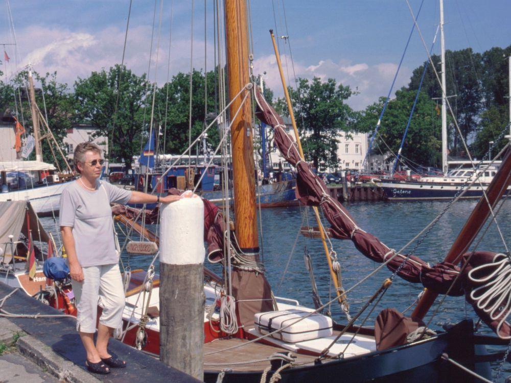 Aase på havnen i Lutov