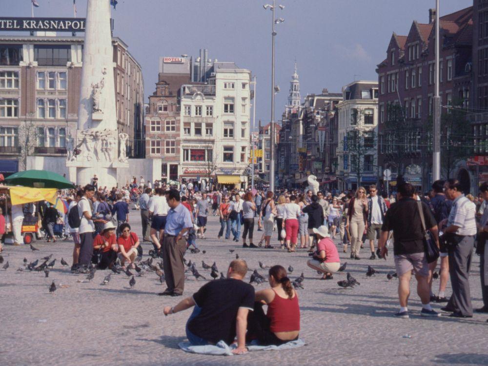 Torvet i Amsterdam