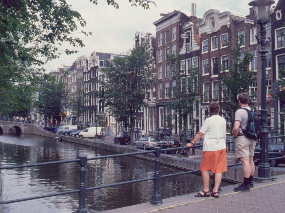 Aase og René i Amsterdam