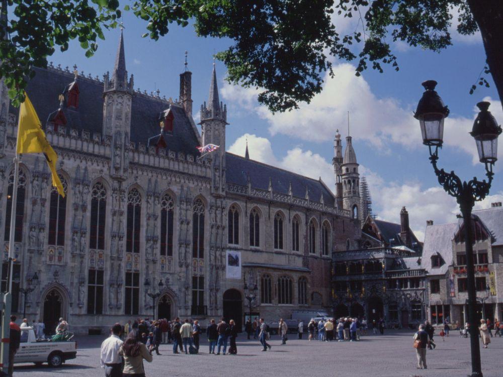 Det gamle rådhus i Brügge