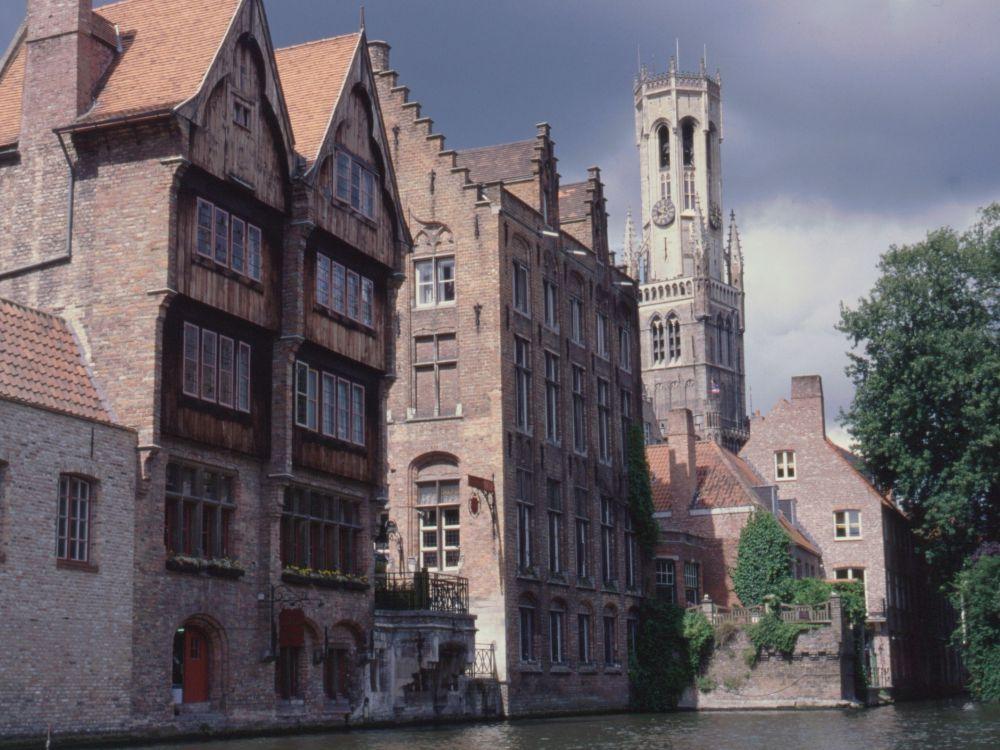 Kanaler i Brügge