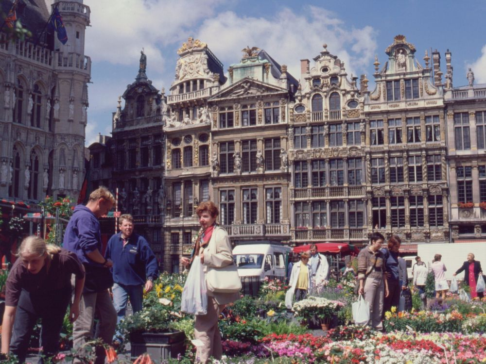 Grand Place i Brüssel