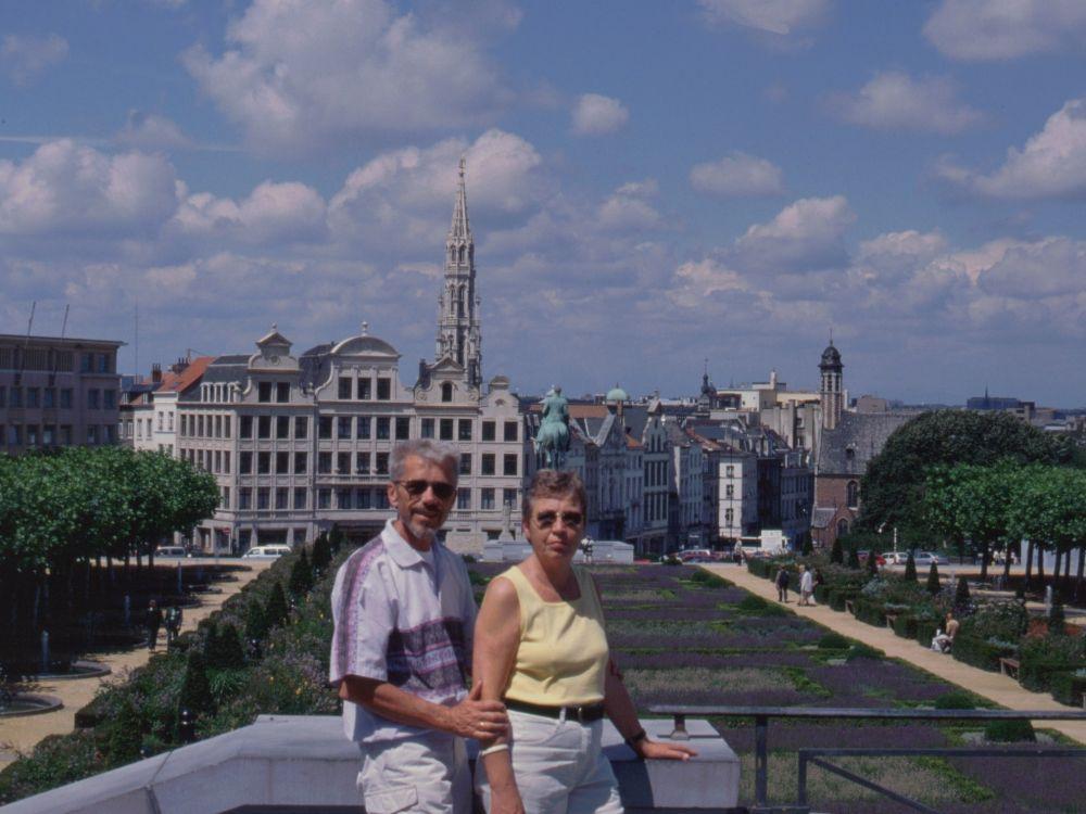 Aase og Thorkild i Brüssel