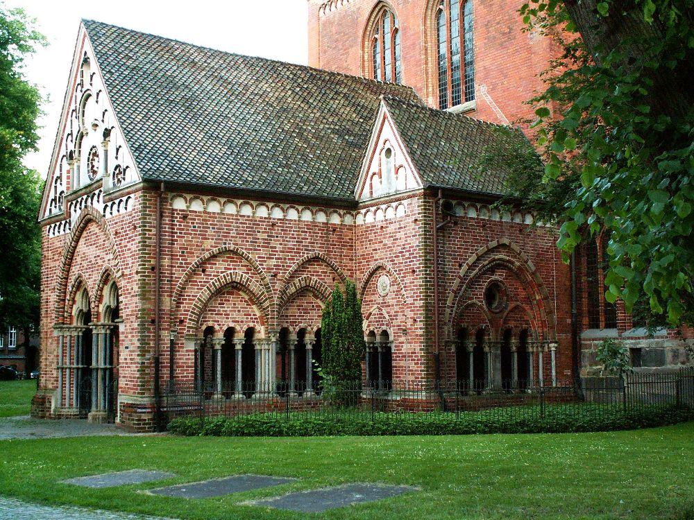 Forhal i Domkirken i Lübeck