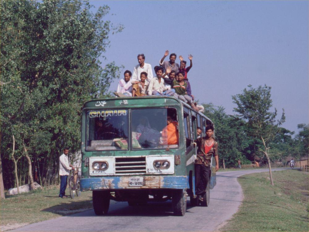 En fyldt bus - et almindeligt syn