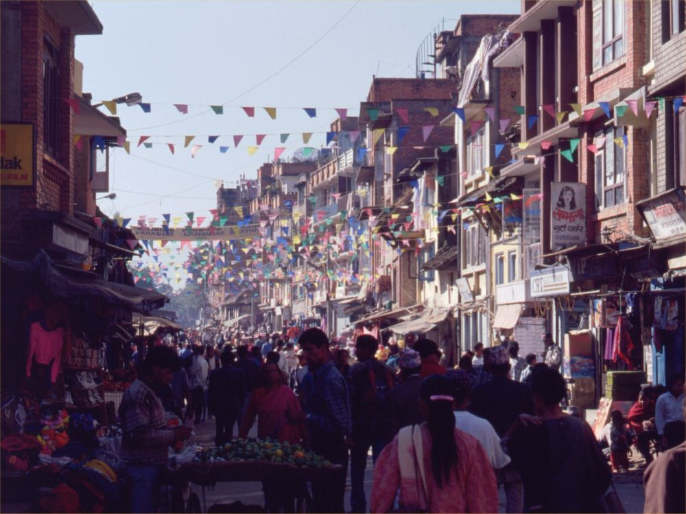 Hovedgaden i Patan