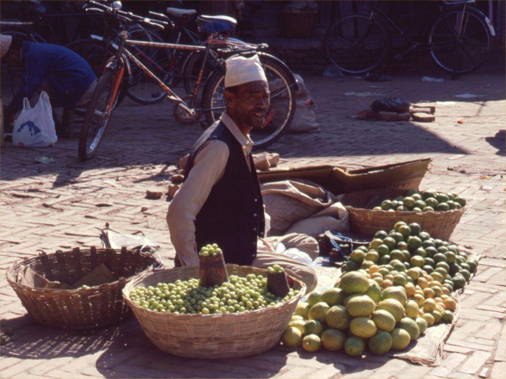 Gadehandler i Patan