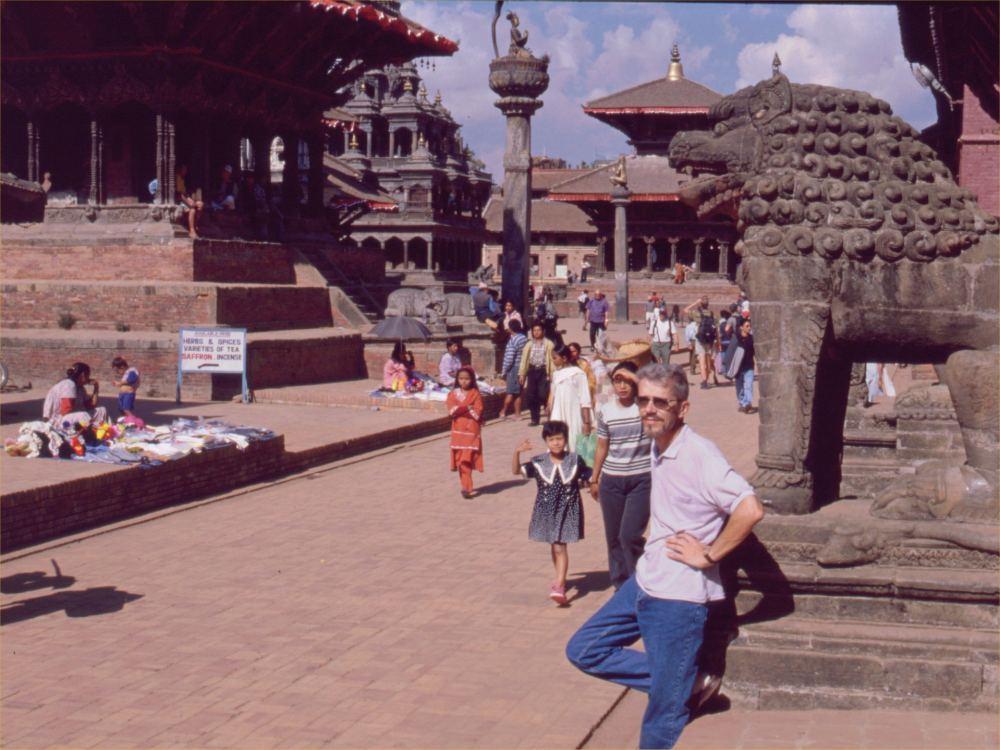 Thorkild på Patan Durbar Square