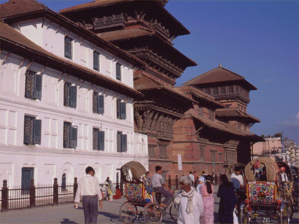 Durbar Square i Kathmandu