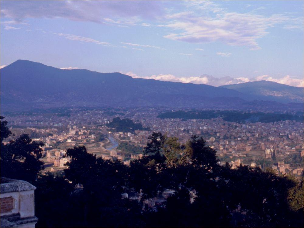 Udsigt over hovedstaden Kathmandu