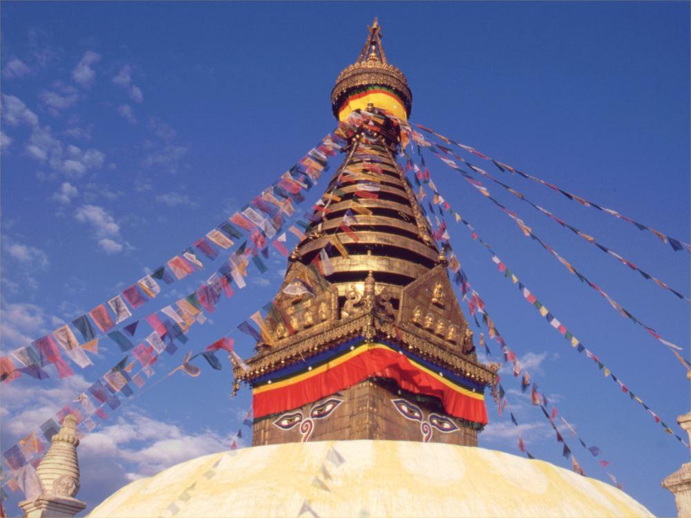 Swayambhunath templet i Kathmandu