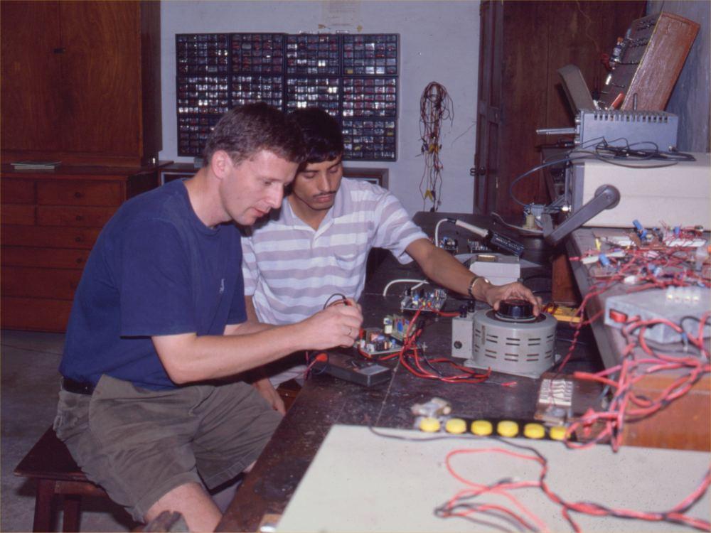 En missionær på arbejde - Jens er ingeniør