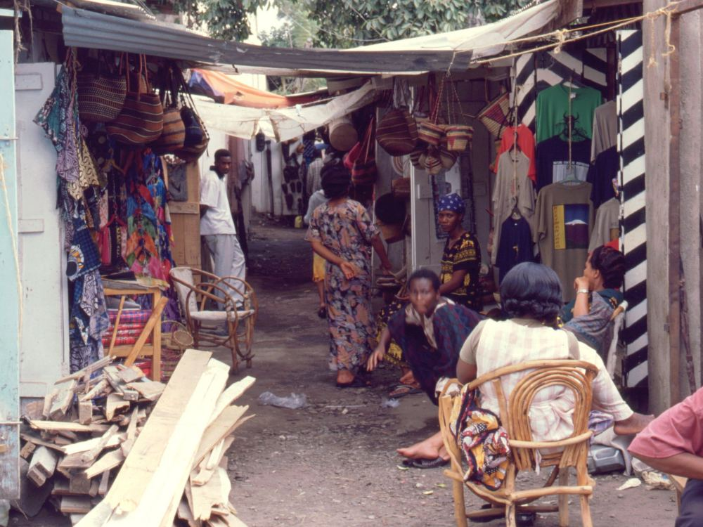 Markedsgyde i Arusha