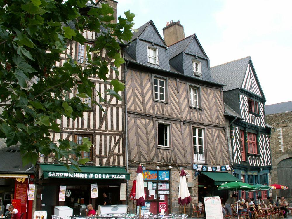 Fransk bindingsværk i Rennes