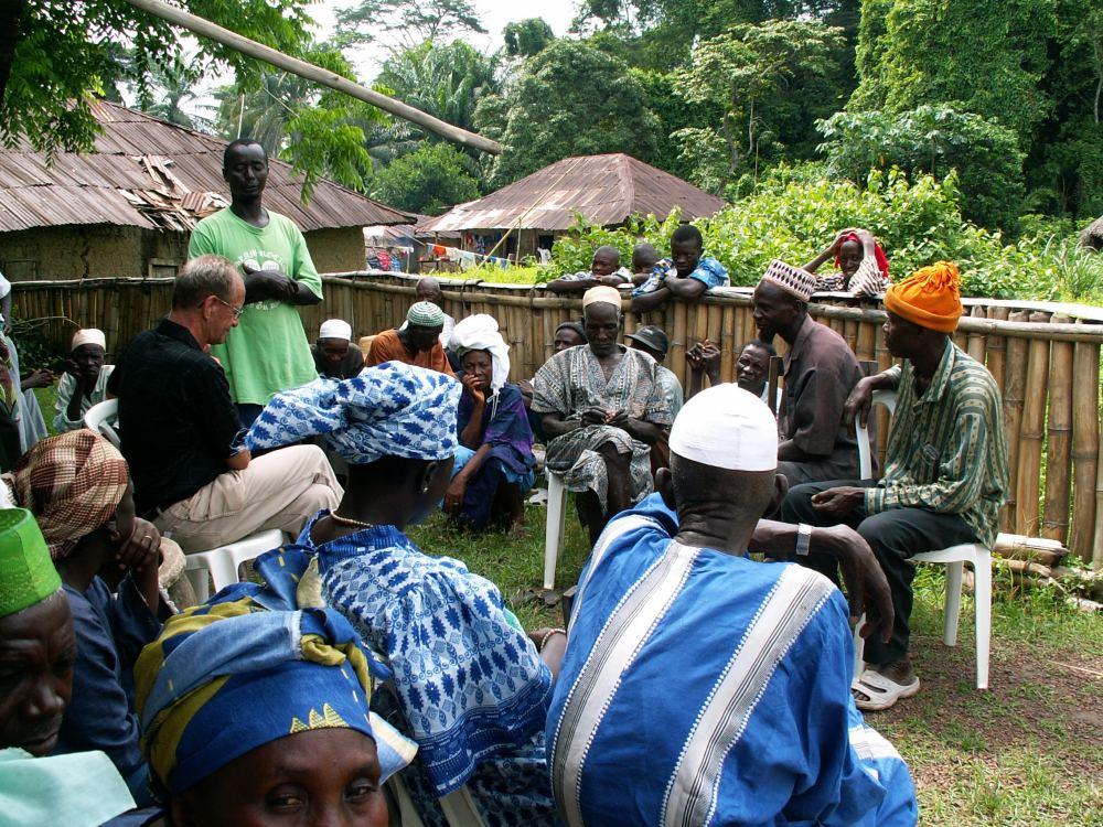Besøg i den lokale muslimske menighed