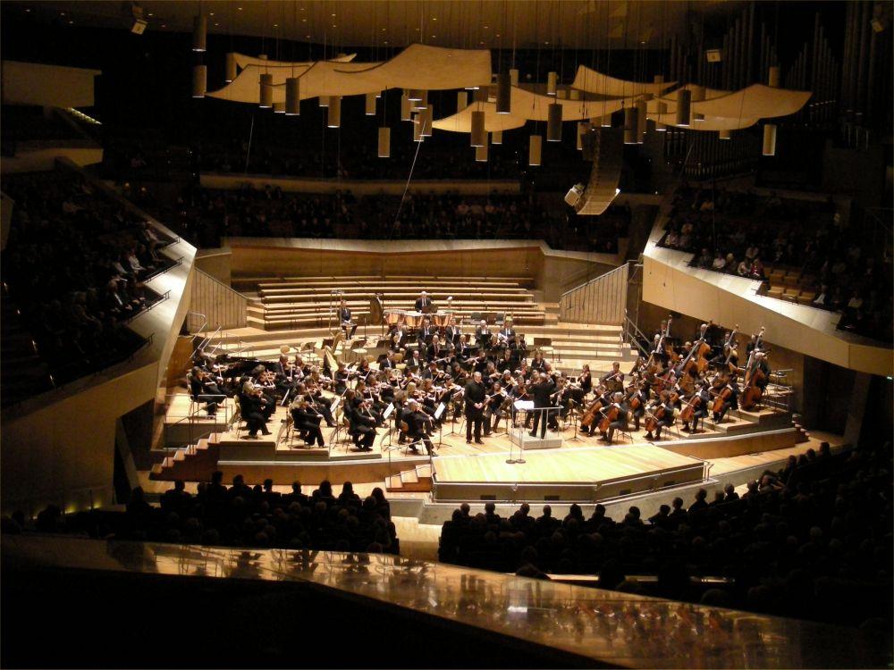 Bo Bøje Skovhus sang ved koncerten i Philharmonien