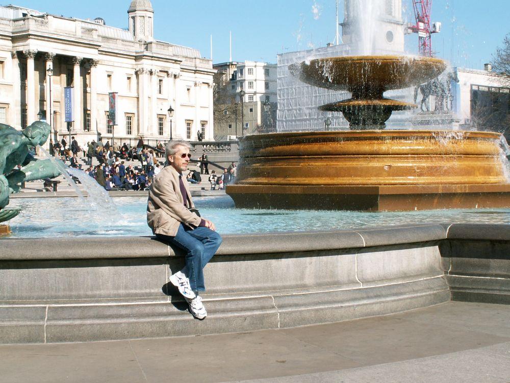 Thorkild på Trafalgar Square