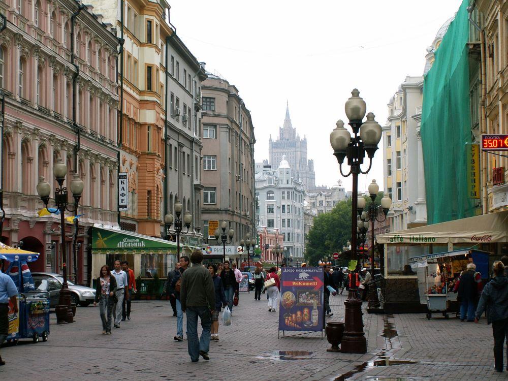 Markedsgade i Moskva