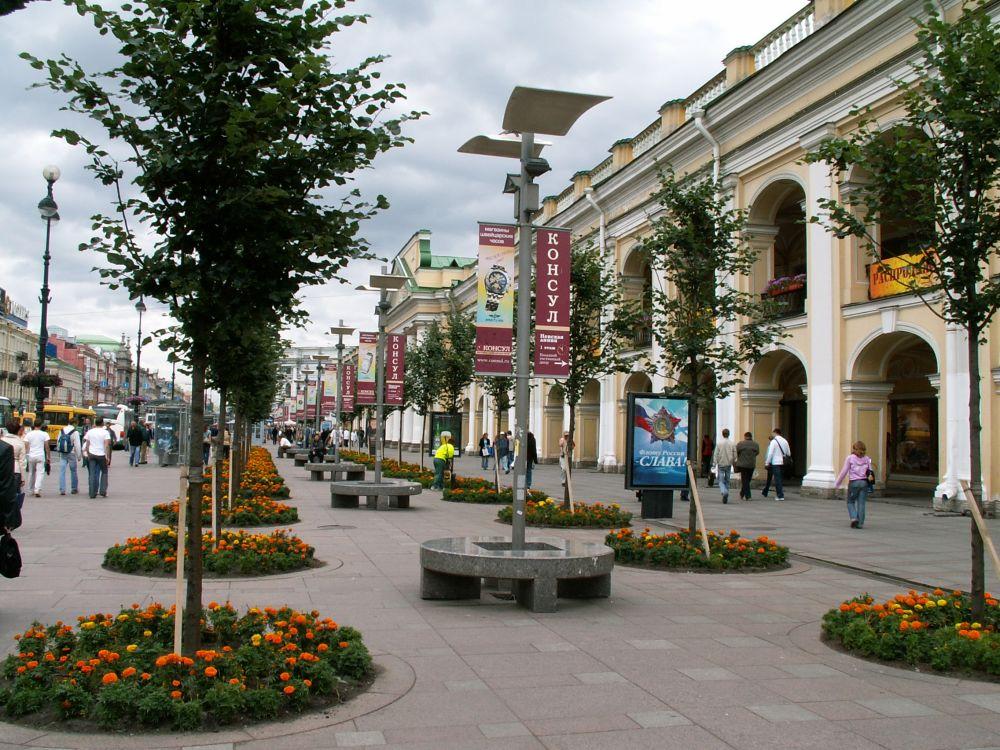 Nevsky Prospekt i Sct. Petersborg