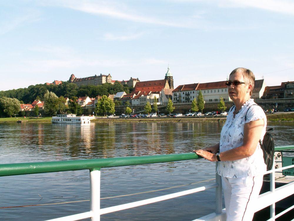 Aase ved Elben i Pirna