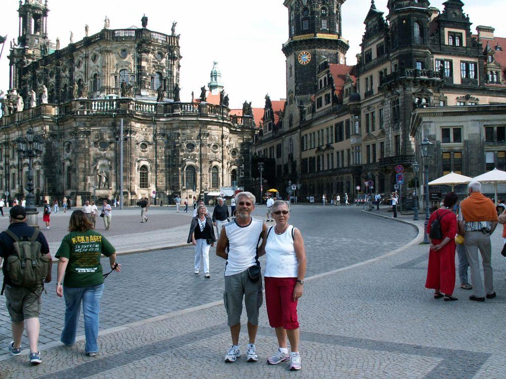 Aase og Thorkild i Dresden