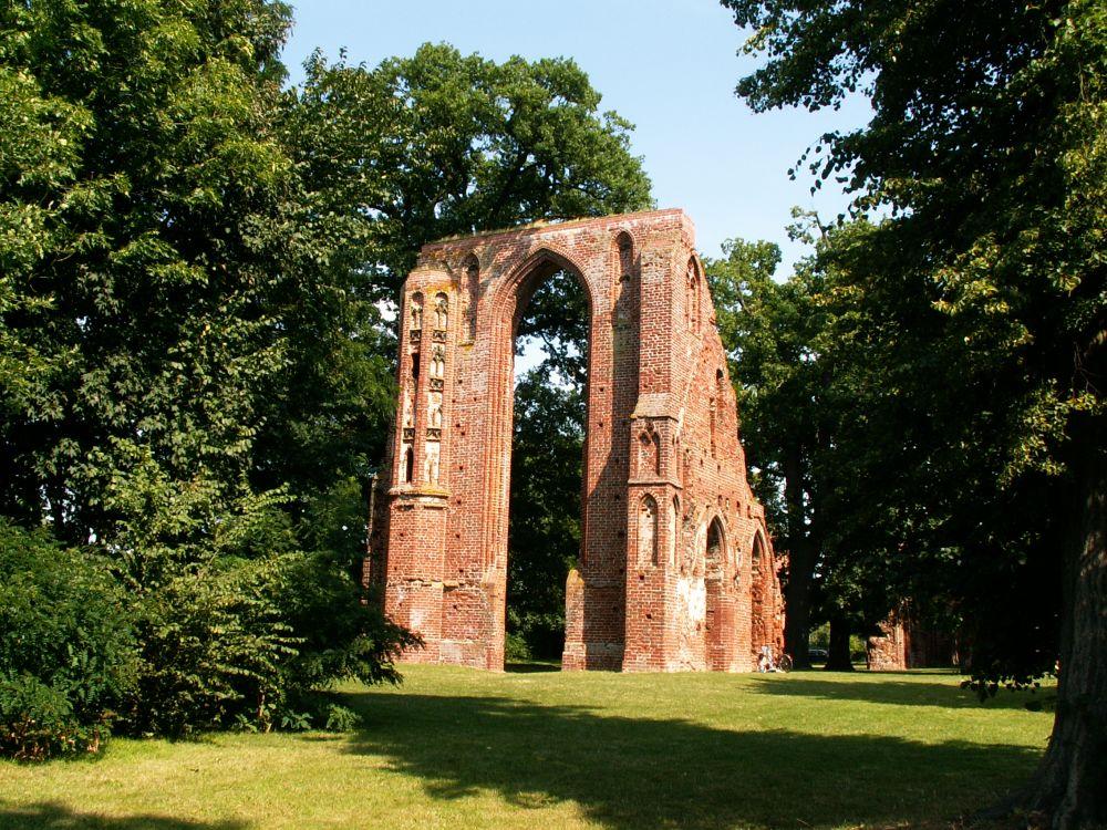 Eldena klosterruinen ved Greifswald