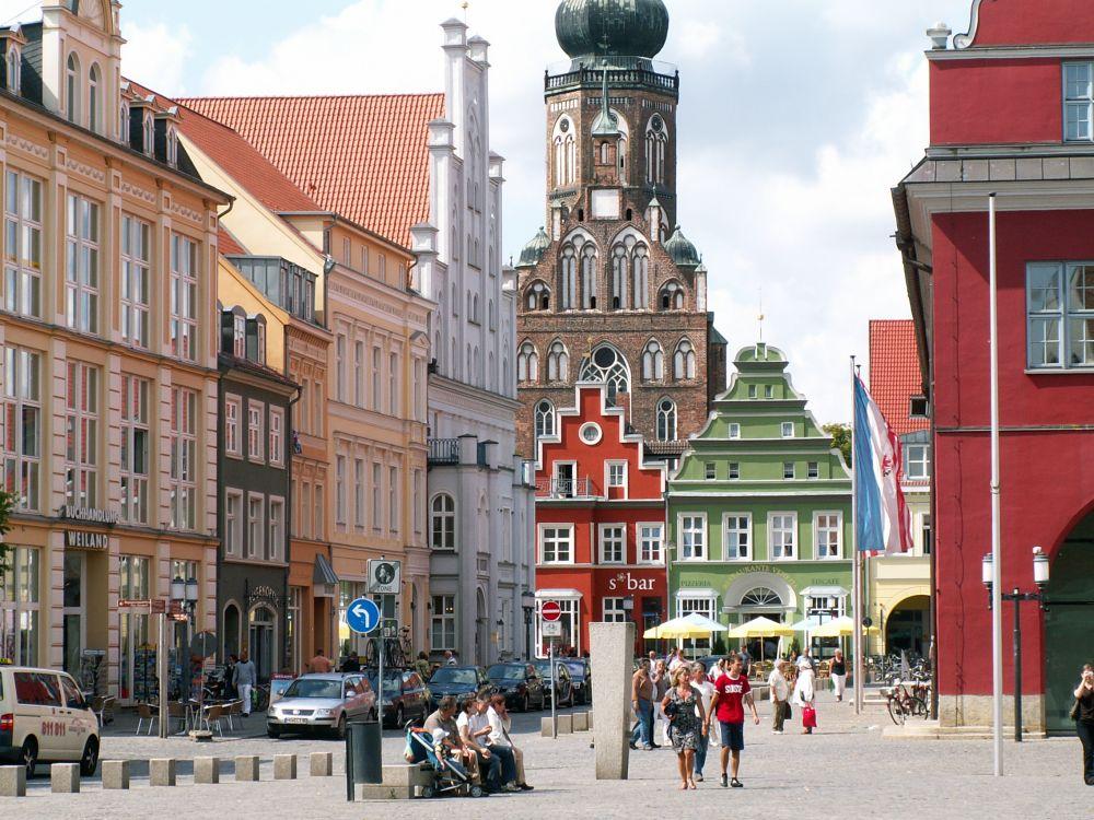 Torvet i Greifswald
