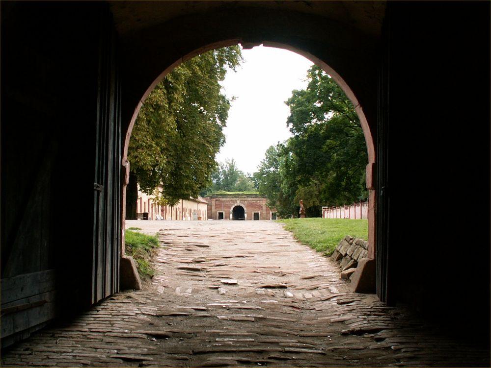 Den lille fæstning i Theresienstadt - tidligere KZ-lejr.