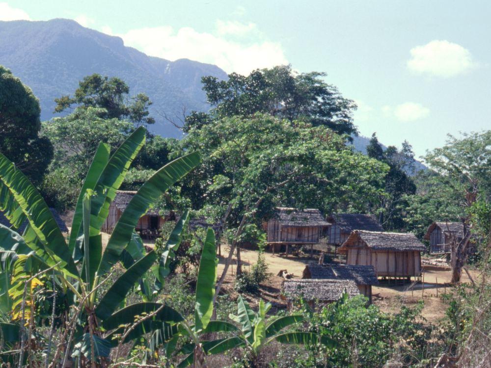 En landsby i de nordlige bjerge