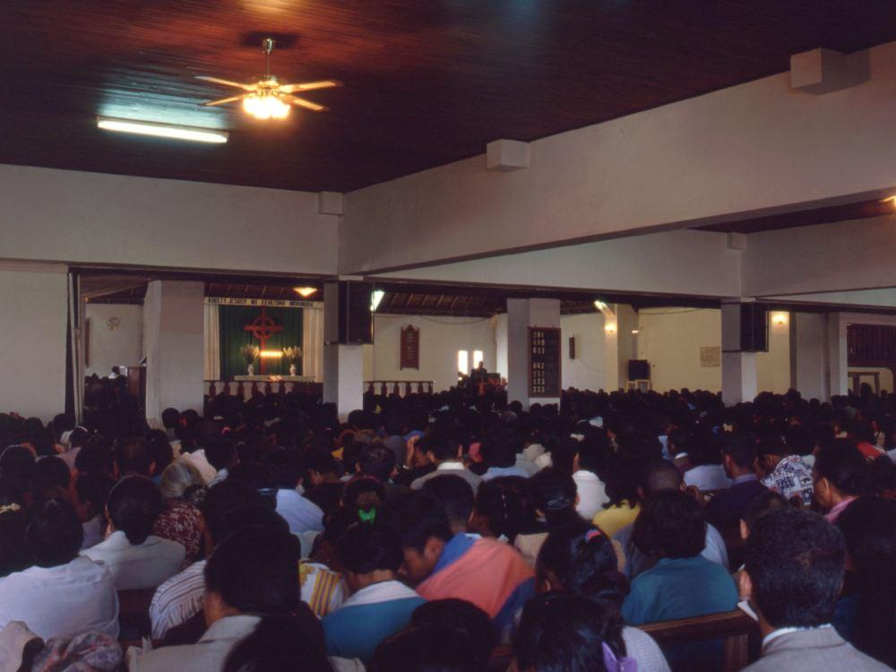 3000 til almindelig gudstjeneste i hovedstaden