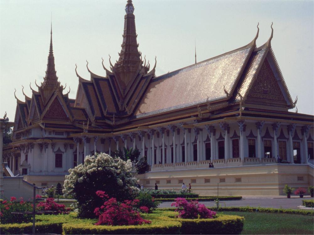 Audiensfløjen i kongeslottet i Phnom Penh