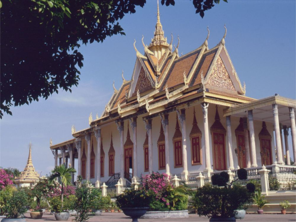 Sølvpagoden i Phnom Penh