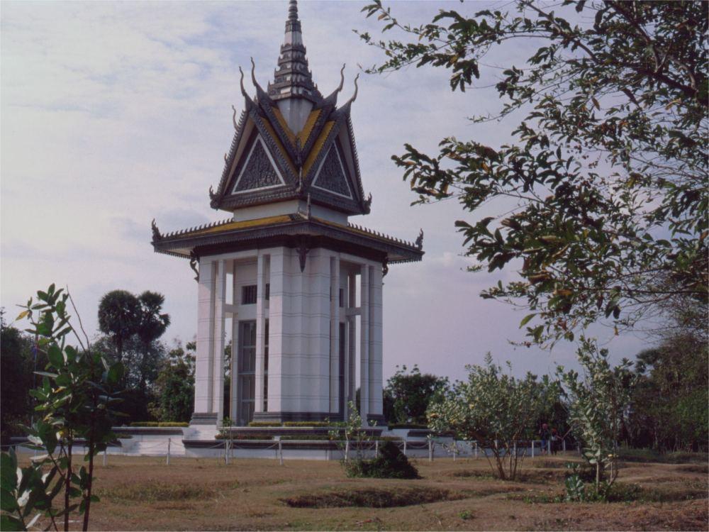 Mindesmærke over ofre under Pol Pot styret