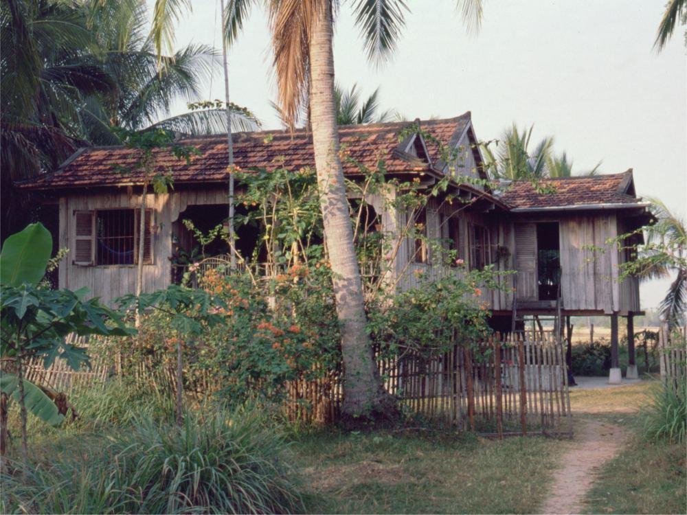 Bodil og Jørgens hus i Preah Sdach