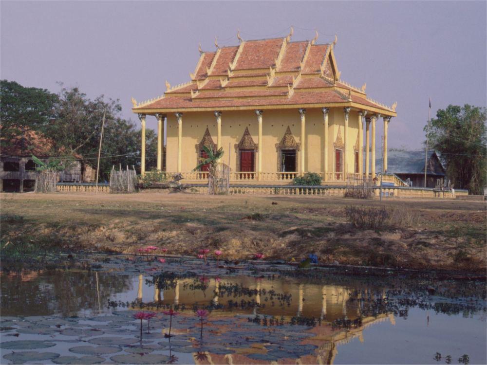 Buddhistisk Landsbytempel