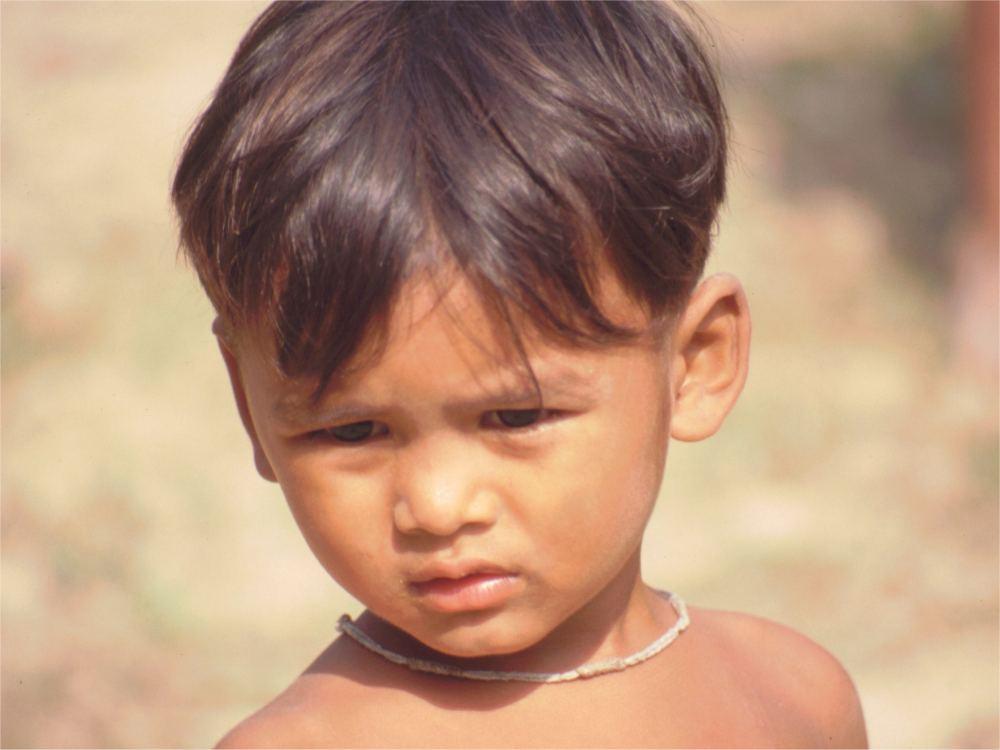 Dreng fra Prey Veng provinsen