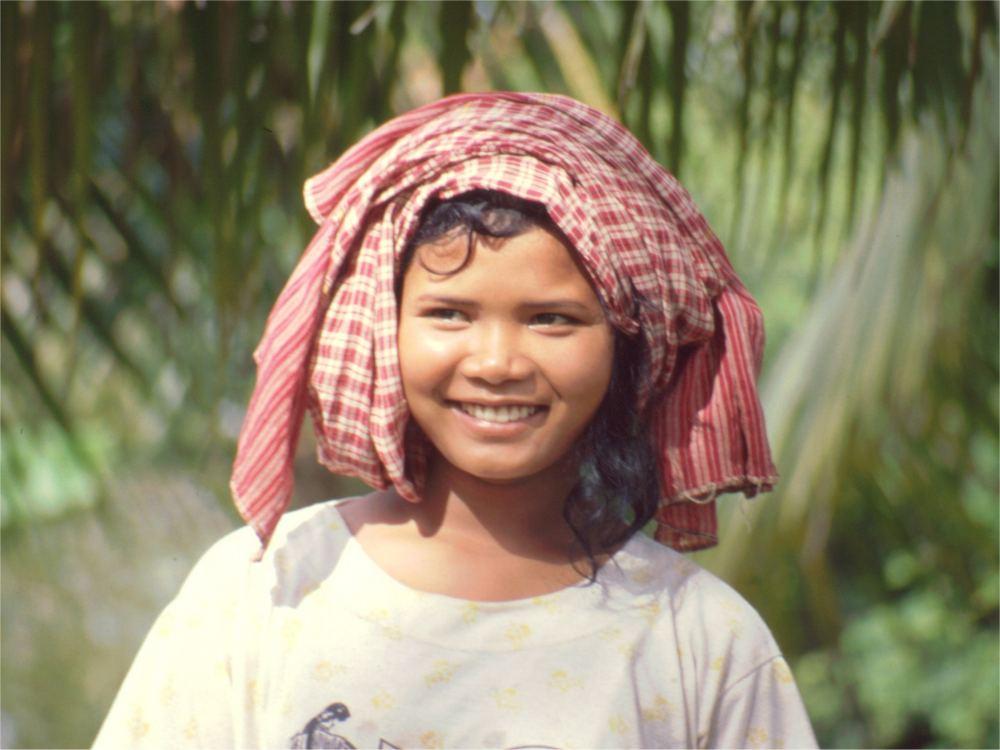 Khmer-pige