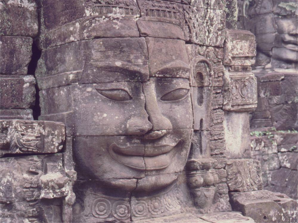 Masker på Bayon templet