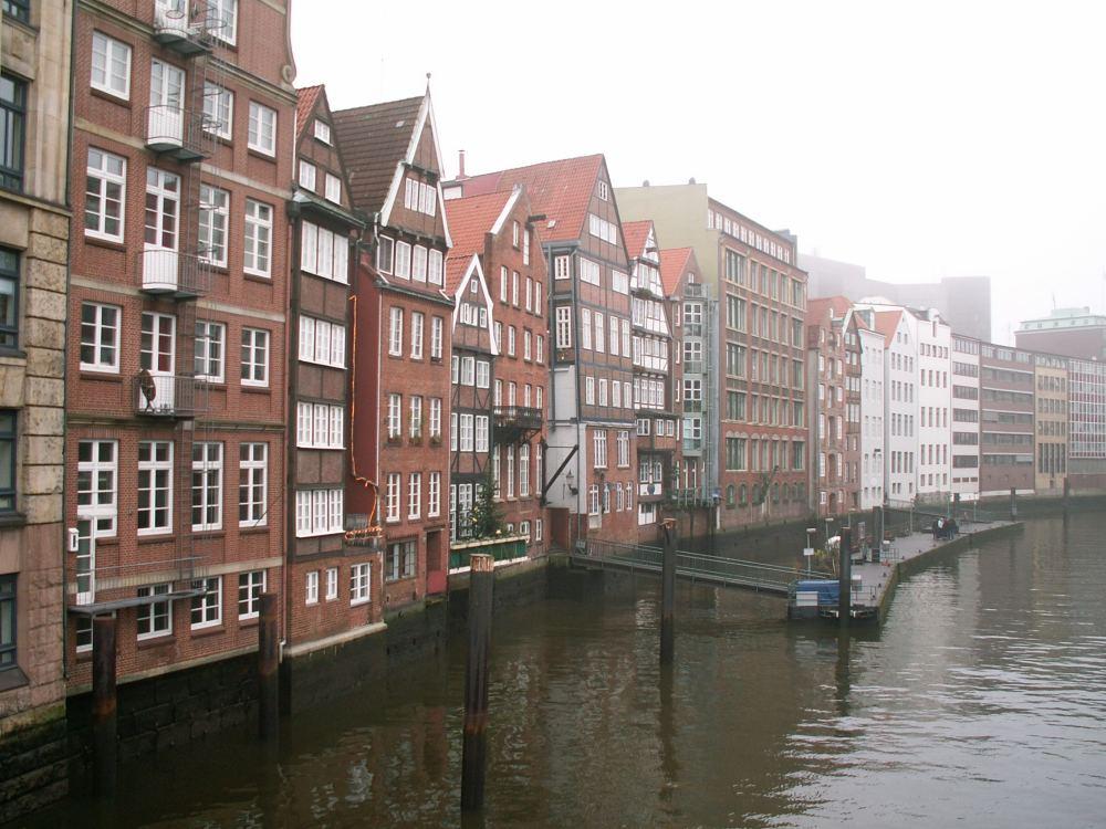 Hamburg Kanalen ved Deichstrasse