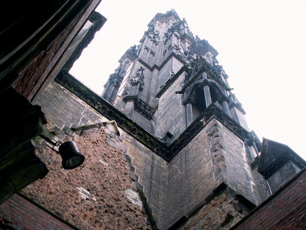 Hamburg Nikolaikirkens tårn