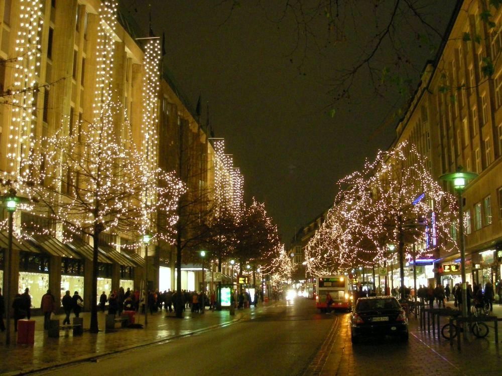 Jul på Mönchebergstrasse
