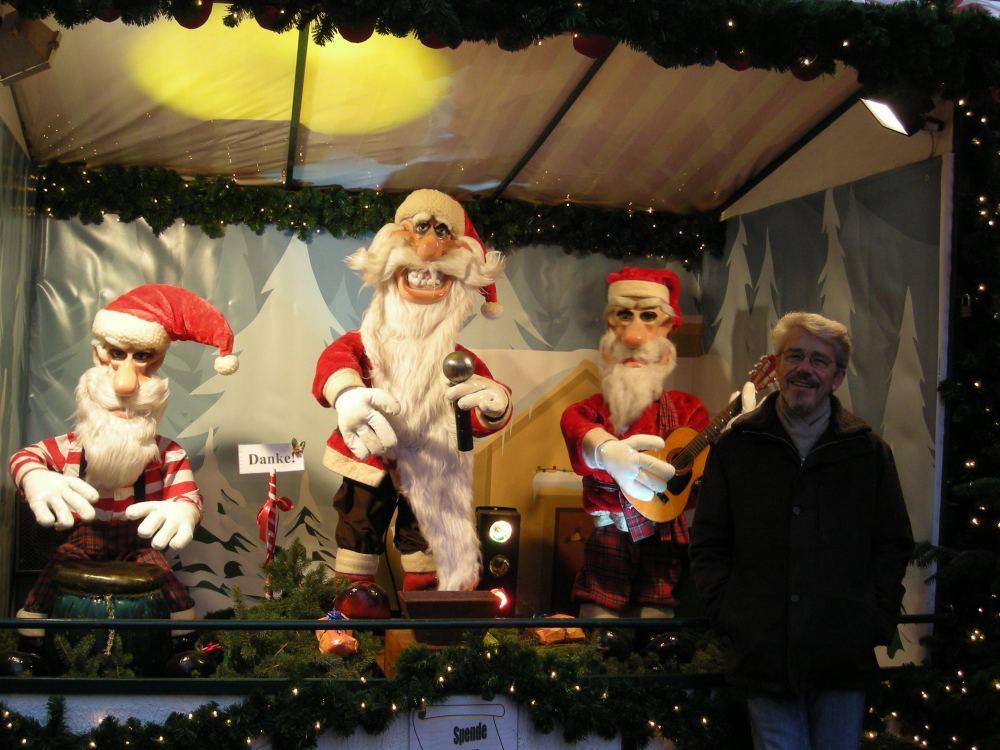 Thorkild og et nisseband med juleschlagere...