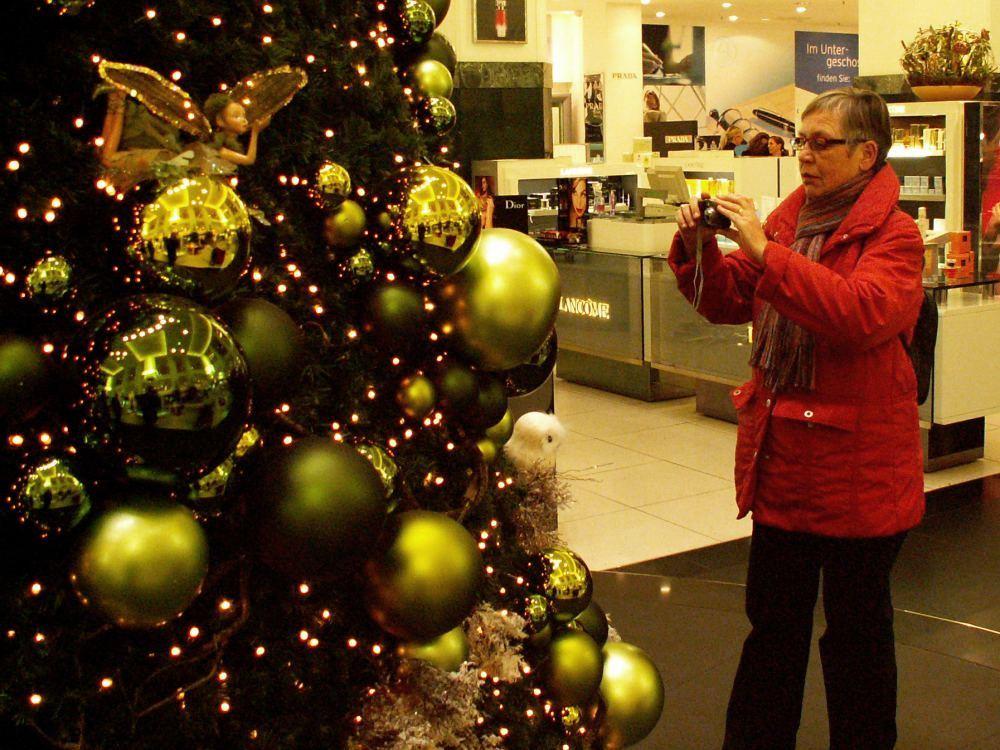 Aase på fotosafari efter julemotiver