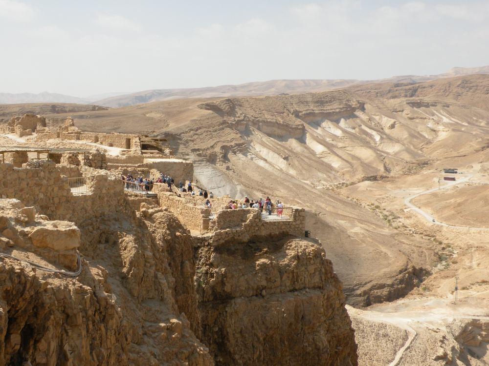 På Masada-klippen