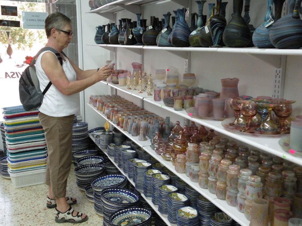 Aase på indkøb i Jeriko