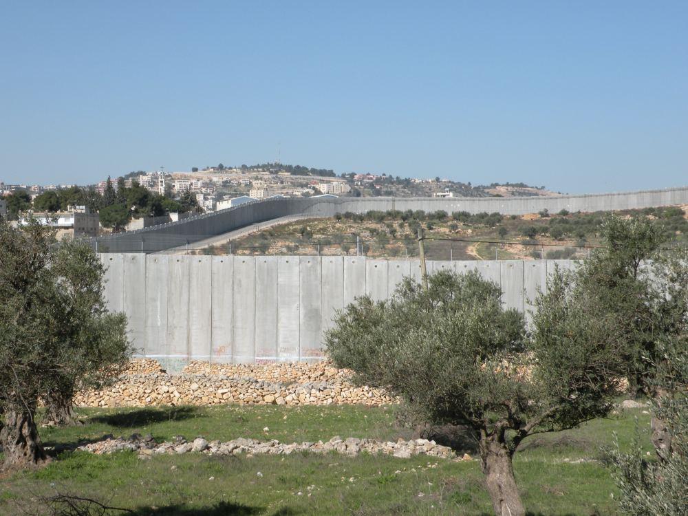 Muren omkring Betlehem