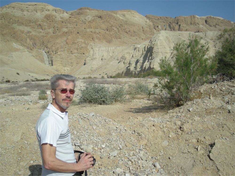 Thorkild ved Qumran, hvor dødehavsrullerne blev fundet